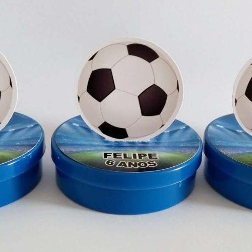 Latinhas bola de futebol 2