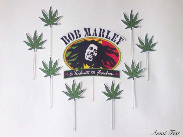 Topo bolo Bob Marley ok